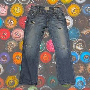 Taverniti So Jimmy Distressed Jeans Embellished 34